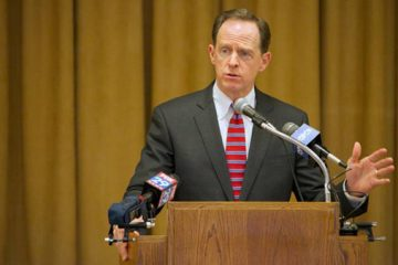 U.S. Sen. Pat Toomey joined Senate Democrats and six other Republican senators voting to move the Employment Non Discrimination Act forward with a procedural motion. (Nathaniel Hamilton/for NewsWorks)