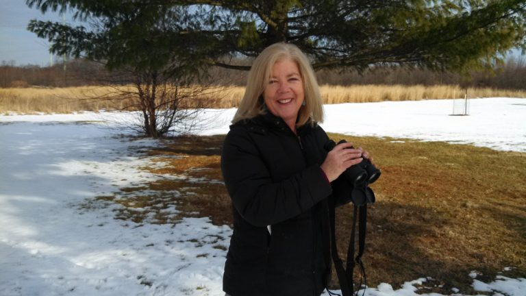 This is the sixth year Pat Evans will be participating in the Great Backyard Bird Count from New Jersey. (Kimberly Haas/for The Pulse)