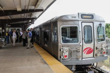 PATCO is celebrating its 50th anniversary with fares at the cost they were in 1969. (Kimberly Paynter/WHYY)