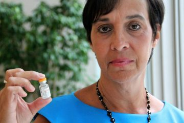 Patty DiRenzo now carries a vial of naloxone, a medication that can halt a heroin overdose, with her at all times. She believes it could have saved her son, who overdosed in 2010. She wants to know why more doctors in New Jersey aren't prescribing it. (Emma Lee/WHYY)