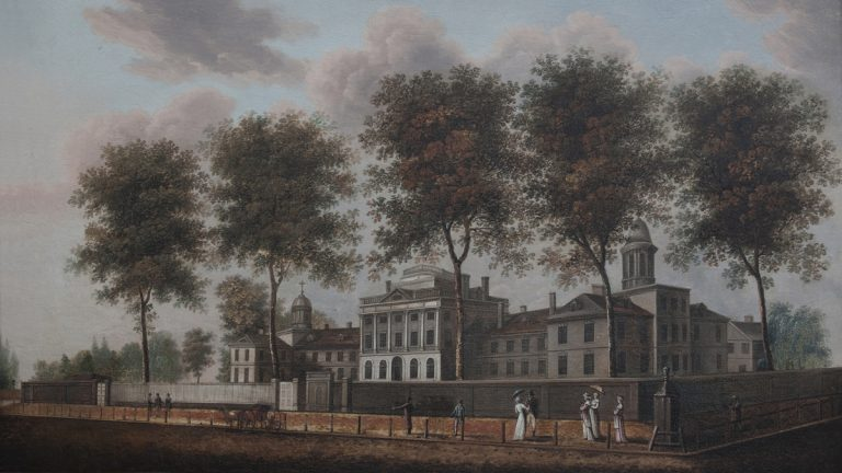 Pennsylvania Hospital. (One time use courtesy of Pennsylvania Hospital and Robert Neroni)