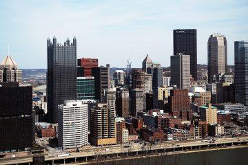 Pittsburgh skyline. (Credit: Ryan Loew/WESA)
