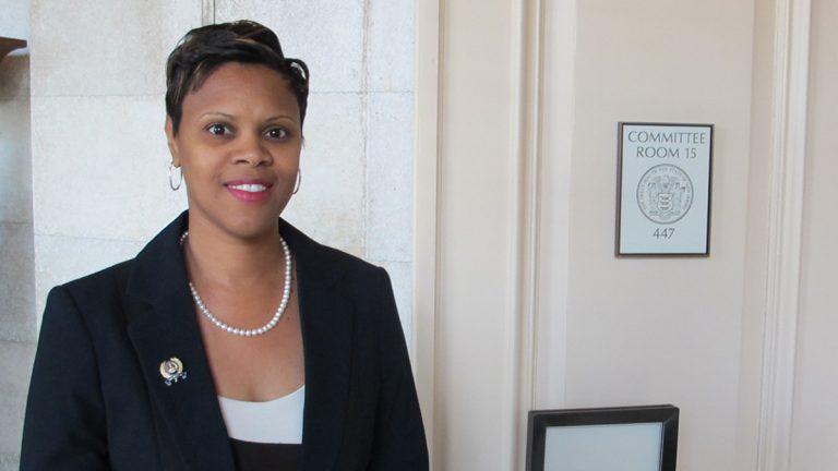 Assemblywoman Shavonda Sumter (D-Patterson) (Phil Gregory/for NewsWorks)