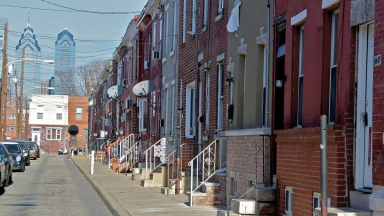 Rents in Philadelphia are the highest in Pennsylvania. (NewsWorks file)