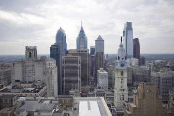 Businesses in Philadelphia contributed more than any other of Pennsylvania's  14 metro areas to the statewide jobs increase in April 2014.  (Lindsay Lazarski/WHYY)