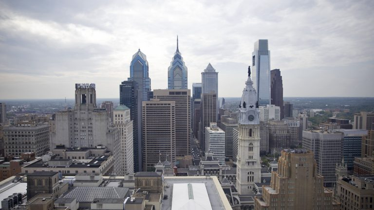 According to the Auditor General, 562 municipalities are considered distressed in the state, underfunded by $7.7 billion. Of that, $5.3 billion is from Philadelphia alone. (Lindsay Lazarski/WHYY)
