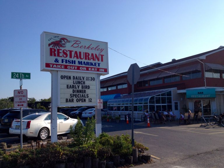 Berkeley Restaurant & Fish Market on August 9, 2014. (Photo: Justin Auciello/for NewsWorks)