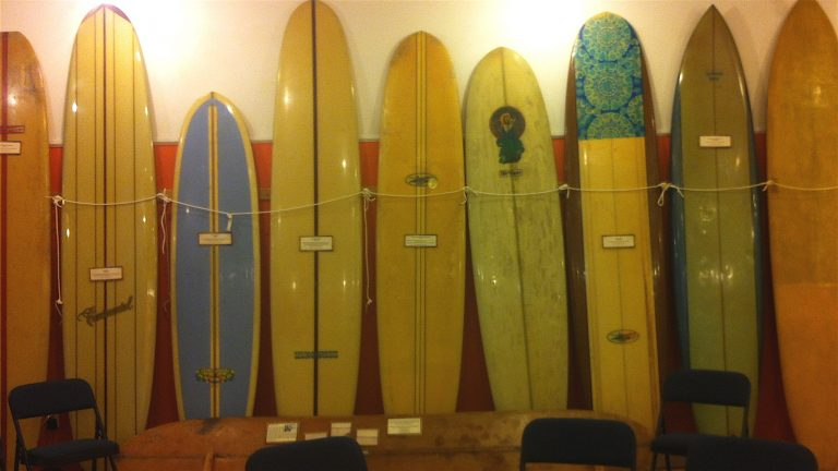 The Tuckerton Seaport is home to the NJ Surf Museum, tracing the sport's history since it came to the state in 1912.