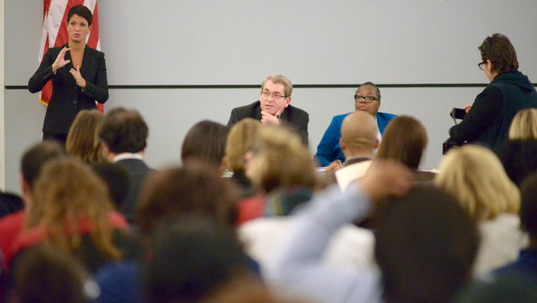 The School Reform Commission is under fire for its handling of a surprise resolution. (Bastiaan Slabbers
