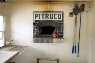 The Pitruco Pizza truck has a custom imported Italian Valoriani wood burning oven (Nathaniel Hamilton/for NewsWorks)