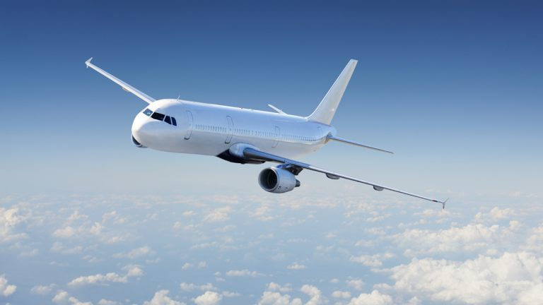 Few human activities are as carbon-intensive as traveling by airplane. (Shutterstock image: xhttp://shutr.bz/17HoIxa)