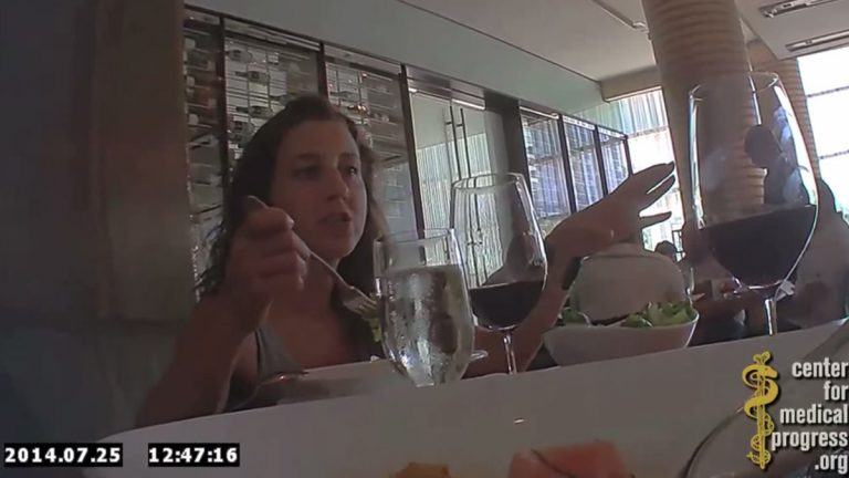 Dr. Deborah Nucatola, Planned Parenthood's senior director of medical services, is shown in this screen shot from a secret video recording released by the Center for Medical Progress.