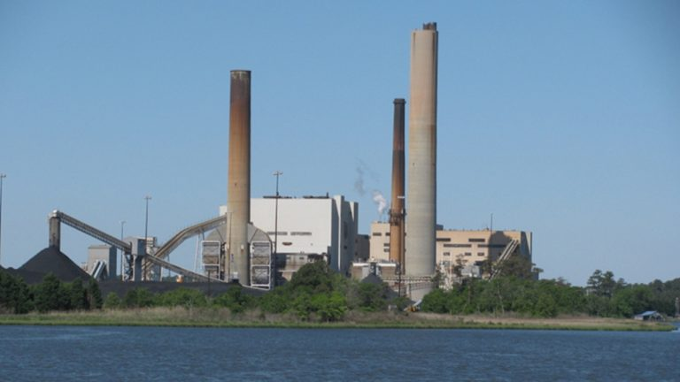 The NRG Indian River Generating Facility (courtesy of DNREC)