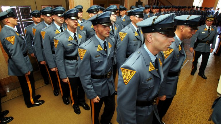 New Jersey State Police are looking for ways to better interact with those with mental illness. (AP Photo/Mel Evans)