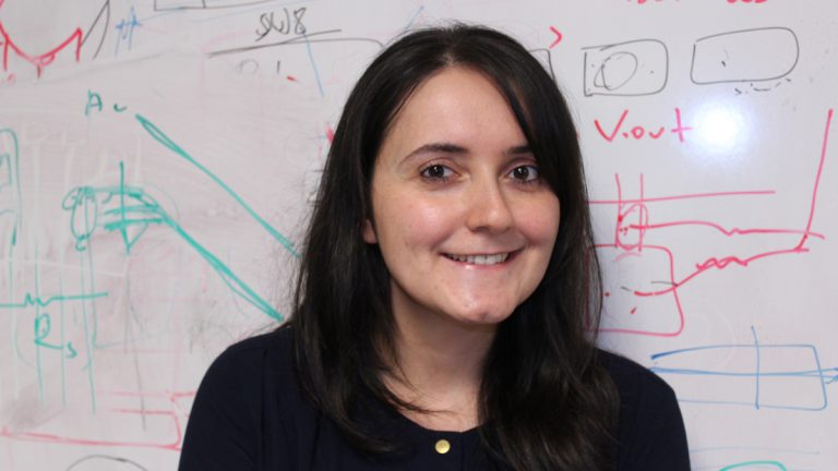 Duygu Kuzum, a University of Pennsylvania postdoctoral researcher, has made the MIT Technology Review's 2014 list of 35 Innovators Under 35. (Image courtesy of the University of Pennsylvania)
