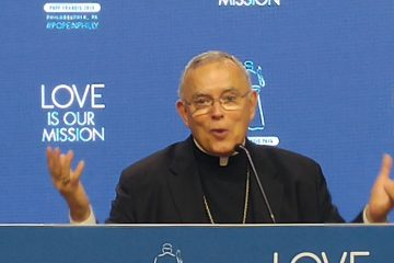 Philadelphia Archbishop Charles Chaput (Tom MacDonald/WHYY)