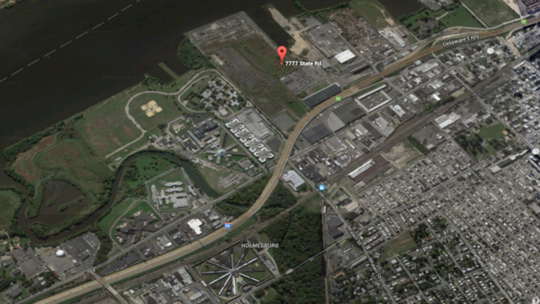 7777 State Road site (Image via PlanPhilly)