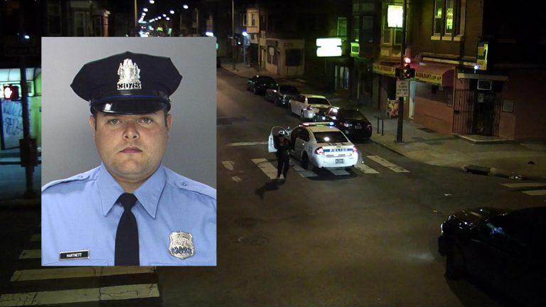 Philadelphia Police Officer Jesse Hartnett