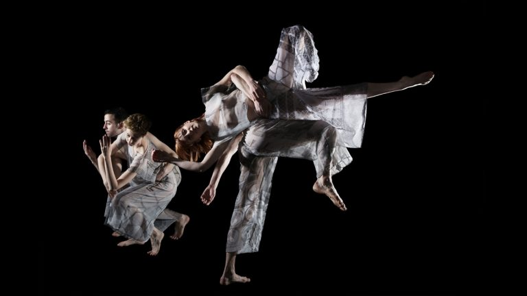 Trisha Brown Dance Company's performances of Present Tense and Set and Reset, will be performed at the Bryn Mawr College Performing Arts Series (Photo by Julieta Cervantes)