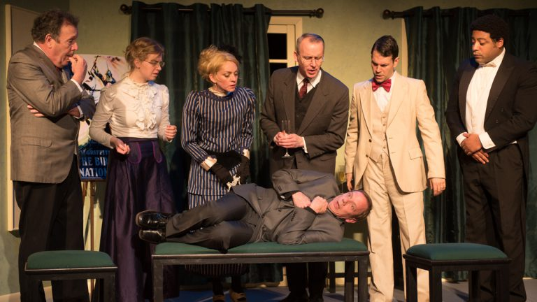 After Birth of a Nation, a new farce by local playwright David Robson