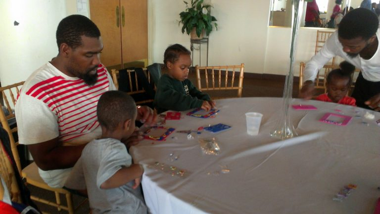 Project DAD participants at play. (Image courtesy of People for People, Inc.)