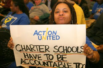 Accountability among charters is of concern to education advocates like Action United member Dawn Hawkins