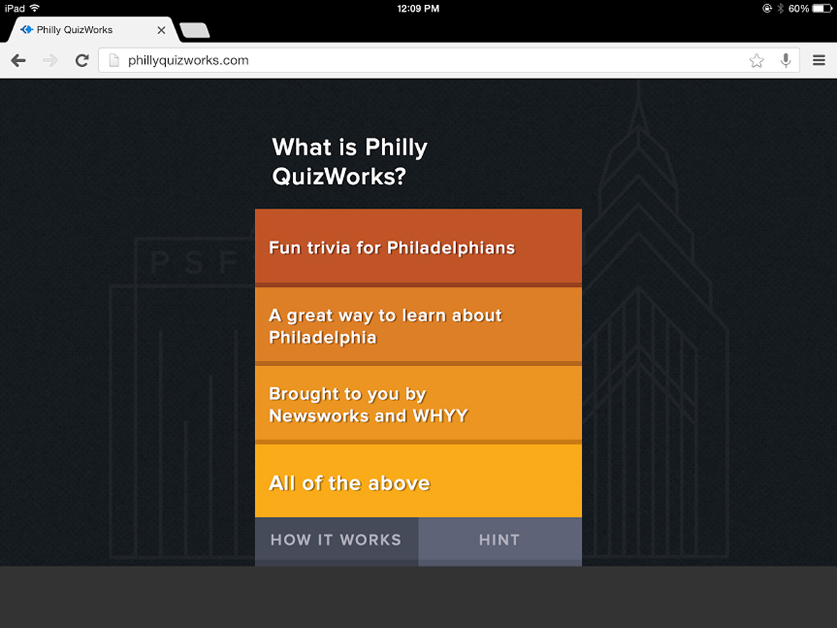 Philly QuizWorks Trivia Facts - WHYY