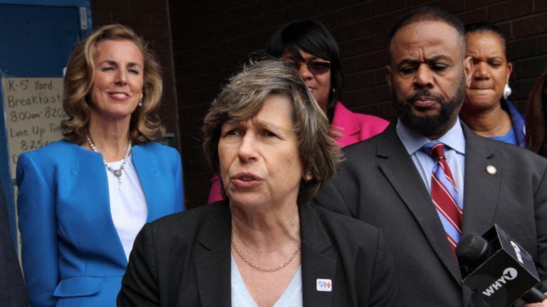 President of the American Federation of Teachers Randi Weingarten. (NewsWorks file photo )