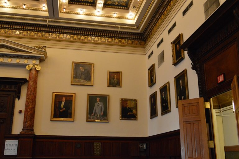 Former Mayor Ed Rendell is the most recent Philadelphia mayor to have his portrait hanging on the walls of City Hall.  John Street left office in 2008