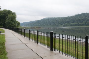 When completed, the Northwest Lancaster County River Trail will run 14 miles along the Susquehanna River in central Pennsylvania. (Diana Robinson/WITF)