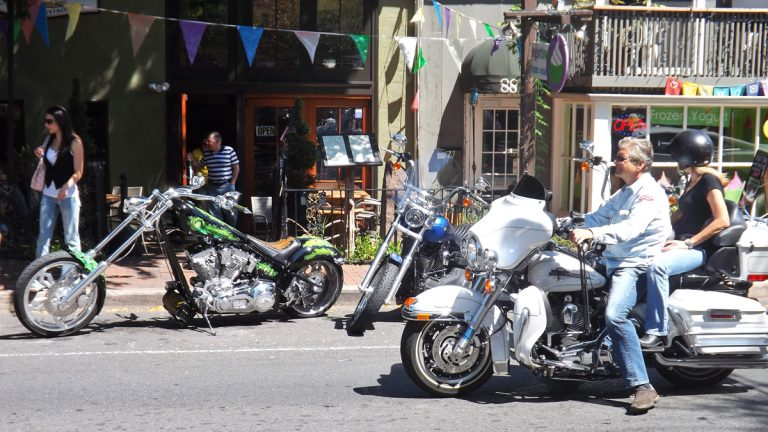 New Hope borough is asking motorcyclists to abide by a new rule to curb noise disturbances. (Meg Frankowski/for NewsWorks)