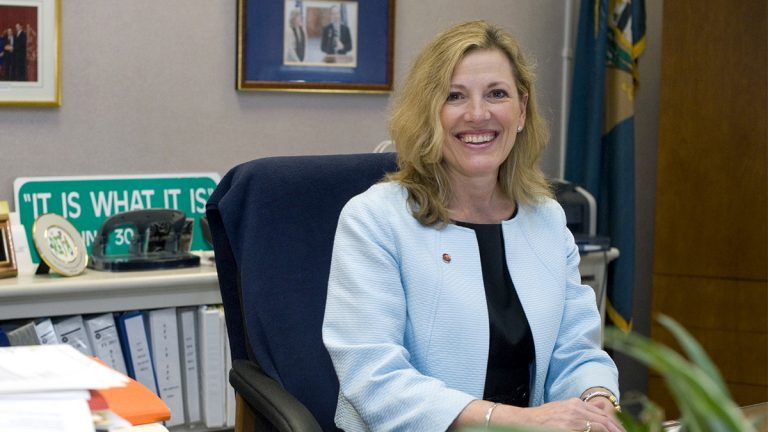 Secretary of Health Rita Landgraf will leave the health department for a UD position. (Courtesy of the Department of Health and Social Services).