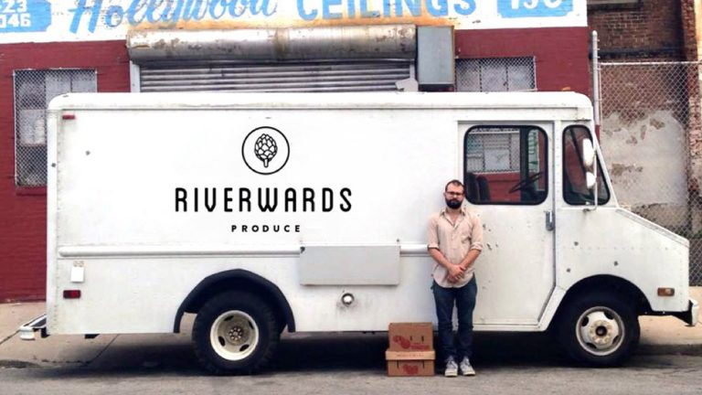 Vincent Finazzo started Riverwards Produce a month ago. Beingmired in student debt made it more challenging to get started, but he saidit was a surmountable obstacle. The Fed study found that wasn't true ofeveryone. (Image courtesy of Finazzo)