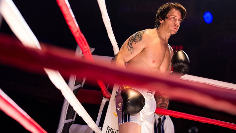 Andy Karl as Rocky in the new Broadway musical version of the film, which opened Thursday night. (Photograph courtesy of Matthew Murphy)