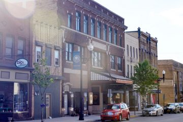 Communities rally around the cause to preserve their historic theaters, but it's often an uphill battle. Philipsburg has seen success in its efforts to save and maintain its downtown theater, built in 1917. (Kelly Tunney/for WPSU)