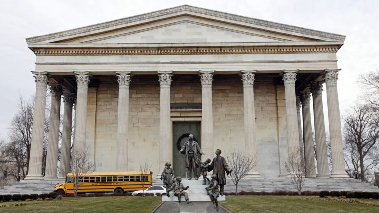 Girard College, founded more than 150 years ago to serve disadvantaged students, cannot suspend its high school and boarding programs to help solve its financial problems. (AP file photo)