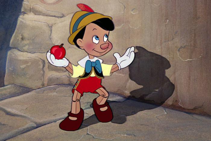 it's Pinocchio