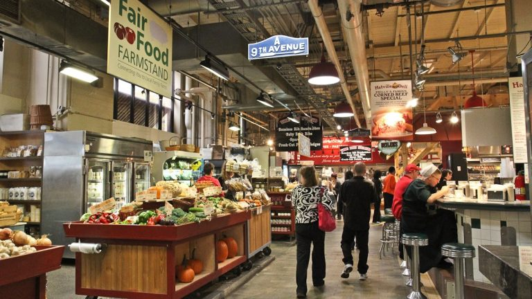 The Reading Terminal Market was recognized as one of the nation's 'Great Places' by the American Planning Association (Kimberly Paynter/WHYY)