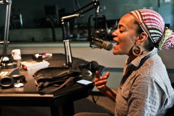 Head to a writers workshop with Philly's own Ursula Rucker on Sunday. (Kimberly Paynter/WHYY