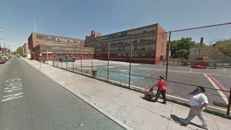 The vacant M. Hall Stanton School was built in the '50s. (Image courtesy of the Community Design Collaborative via Google Maps)