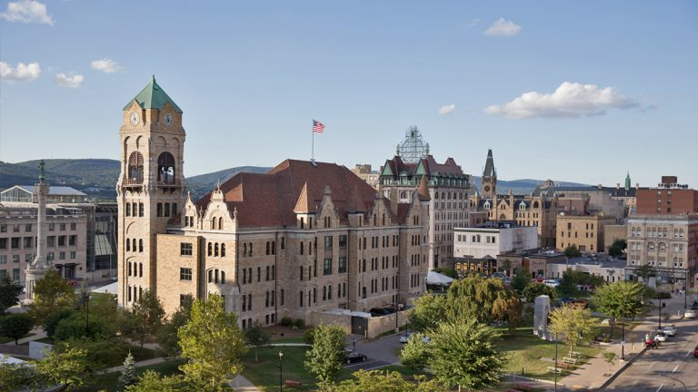 A judge recently struck down Scranton's attempt to implement an earned income tax on people who work in the city but live elsewhere. (Lindsay Lazarski/WHYY)