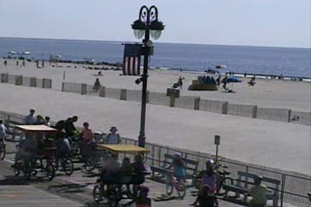 Ocean City boardwalk. (Image: TheSurfersView.com)