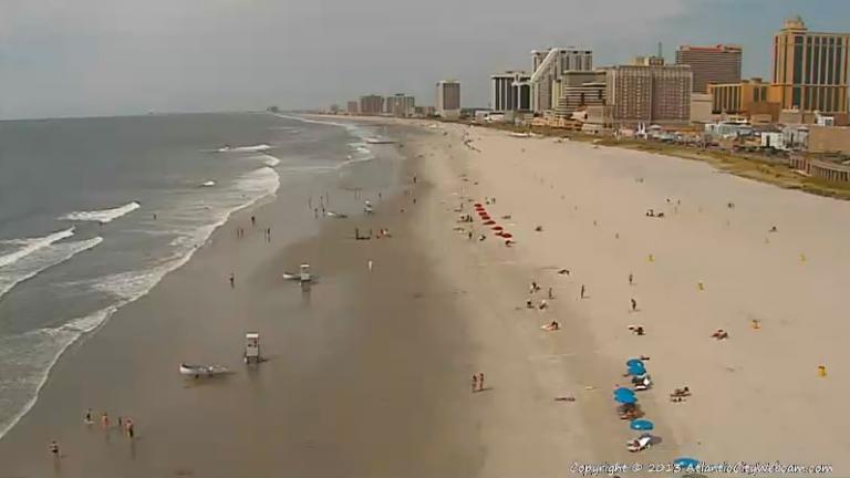 (Image: Atlantic City Webcam)