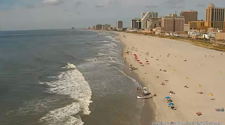 Atlantic City at 10:30 a.m. today. (Photo: Atlantic City Webcam)