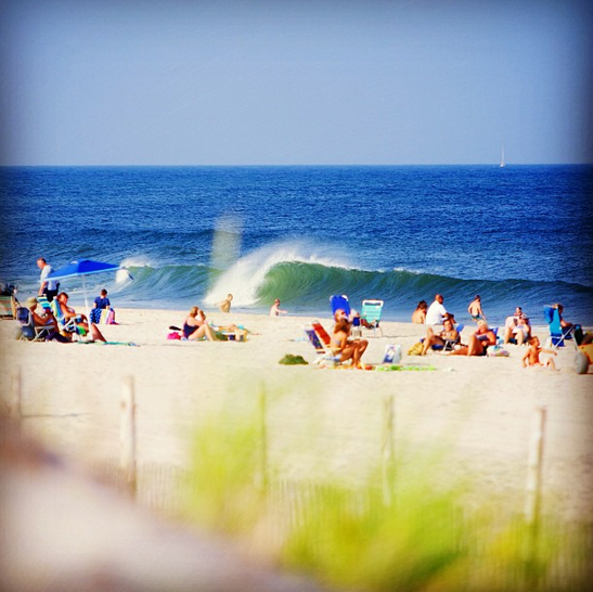 Late afternoon today in Seaside Park by Ben Currie.