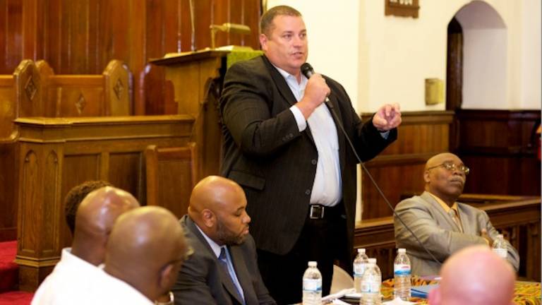 At a public meeting in July, Camelot President and CEO Todd Bock told the Germantown community that his schools cater to