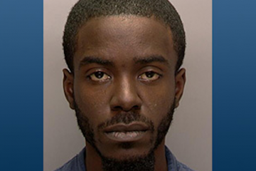 Rakim Jordan was charged with burglary and related offenses in connection with a break-in at a Germantown Ave. sub shop. (Photo courtesy of PPD)