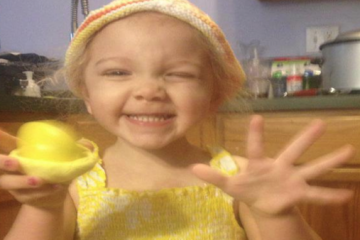 Angelina Phillips-Edelman, age 4. (Courtesy of Phillips-Edelman family)