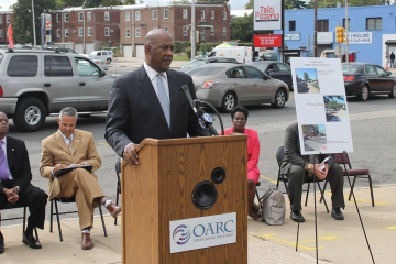 Of the project, state Rep. Dwight Evans said,