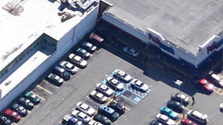 An overhead view of the Germantown Pathmark location. (Courtesy of Google Maps)